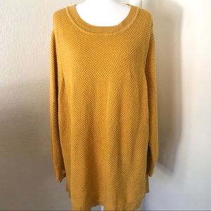 🌵Old Navy Plus size mustard yellow sweater
